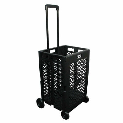 Olympia Tools Pack N Roll Portable Folding Mesh Rolling Storage Cart Used