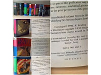 Harry Potter: A Complete Set of Original Harry Potter Books, [5 First Editions Books]