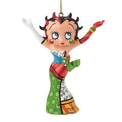 Romero Britto Betty Boop Hanging Ornament New Boxed 4046450