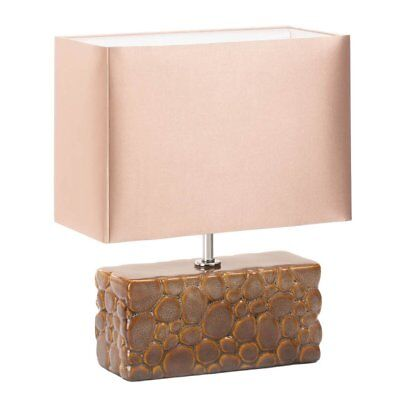 bedside table lamps small rustic ceramic home
