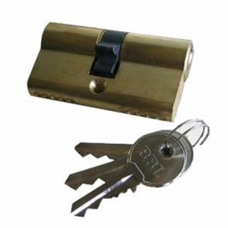 Fortis V-Cam Double Cylinder Brass KD (F851034)