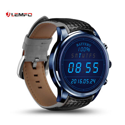 LEMFO LEM5Pro Bluetooth Wireless 2/16 GB Erudite Watch GPS WiFi For Android iPhone