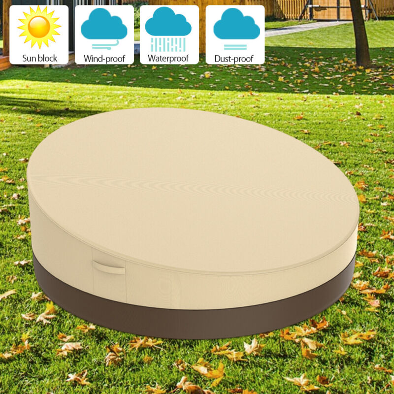 Round Daybed Outdoor Round Canopy Patio Furniture Sofa Water