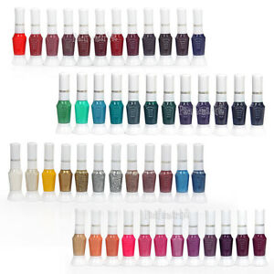 48 Colour DIY Nail Art Design Set Nail Polish Glitter Varnish Decor Brushes Pens