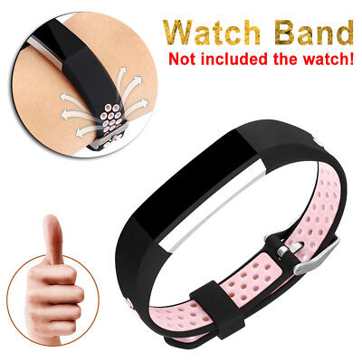 Flexible Adjustment Wrist Band Strap Pink Small Best Replace for Fitbit
