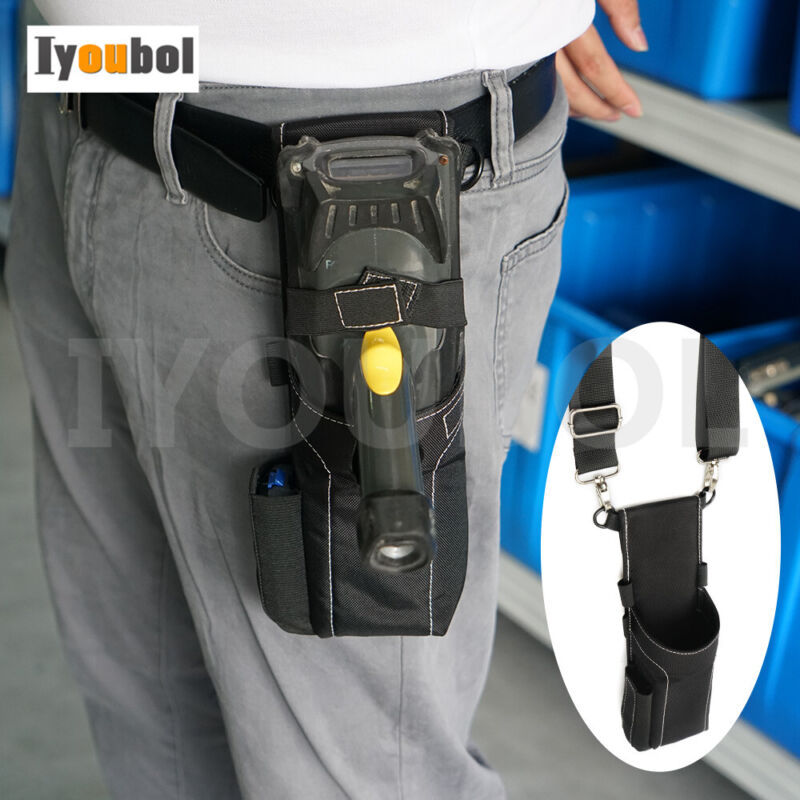 Universal Belt Holster Bag For Motorola Symbol Zebra Barcode Scanner MC9090-G-K