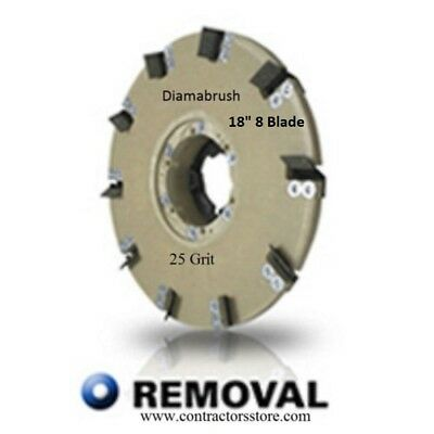 Diamabrush 18 Concrete Coating Remoaval Tool 25 Grit