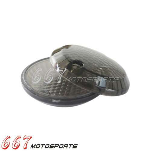 4x Smoke turn signal lens lentilles pour SUZUKI 1998-2003 Intruder 1500//VL1500