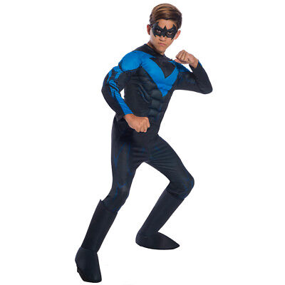Boys Deluxe DC Comics Nightwing Costume (Nightwing Costume For Boys)