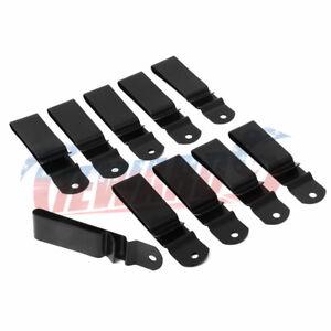 10 Pack Metal Spring Belt Holster Sheath Clip for Kydex