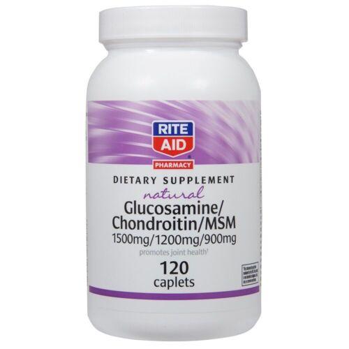Rite Aid Natural Glucosamine Chondroitin 500mg 400mg 120 Cap