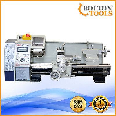 Bolton Tools Lathes 8 X 15 Bench Top Precision Mini Metal Lathe Bt210v