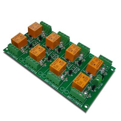 8 Relay Board Ready For Your Pic Avr Project - 12v