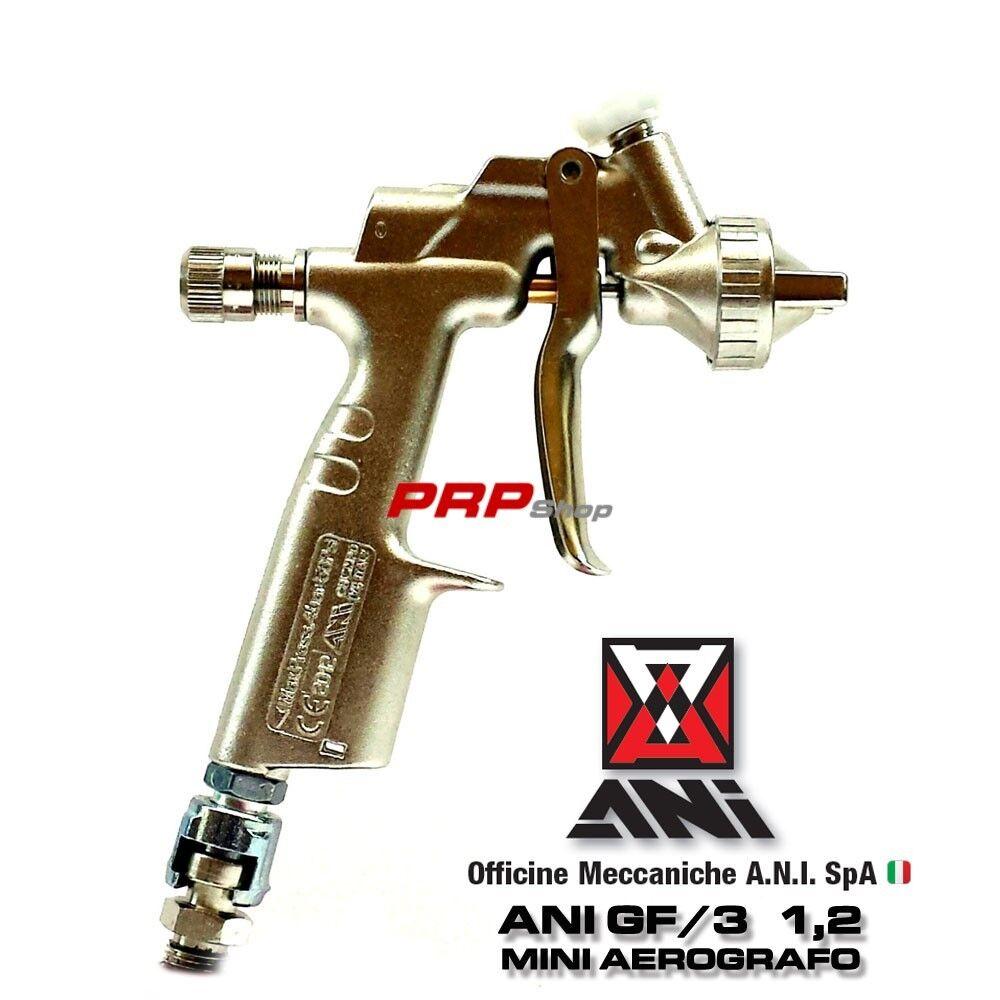 mini aerografo ani gf 3 11a 1 2 pistola a spruzzo per
