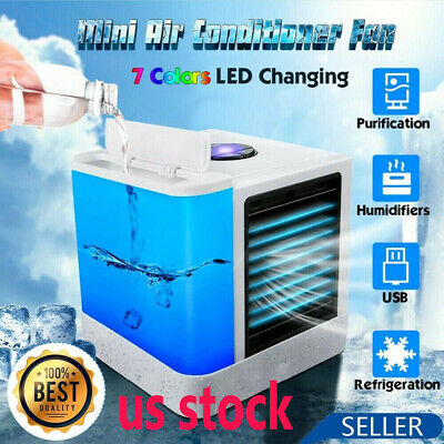 Portable AC Air Conditioner Cooler Fan Humidifier Evaporative Air Cooling Fans