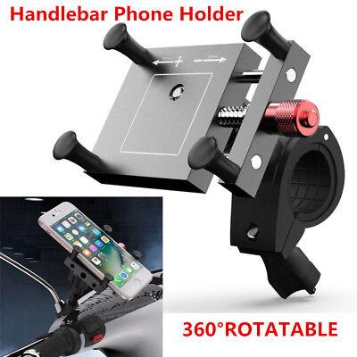 360° Adjustable CNC Motorcycle MTB Mirror/Handlebar Mount Mobile Phone