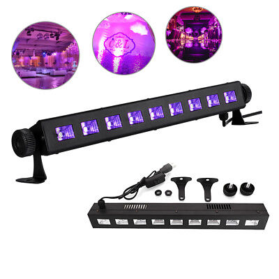 27W LED UV BAR Black Light Wall Light Xmas Purple Stage Lamp for Bar Party (Uv Light Party)