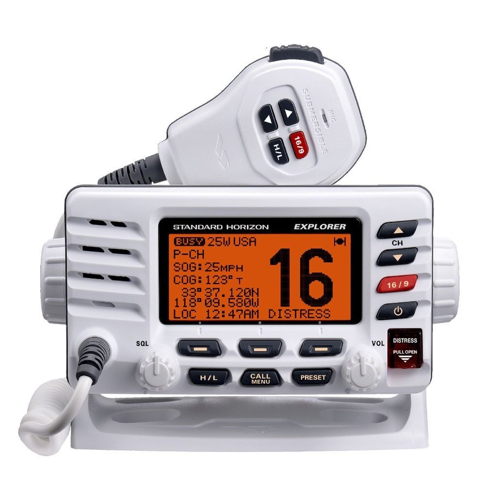 Standard Horizon Explorer Class D Dsc Vhf Marine Radio Gx...