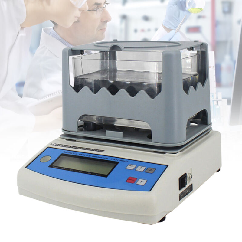LCD display Solid Density Meter Electronic Densitometer For Plastic PVC Rubber