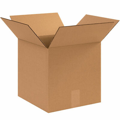 100 - 10 X 10 X 10 Corrugated Shipping Boxes Storage Cartons Moving Packing Box