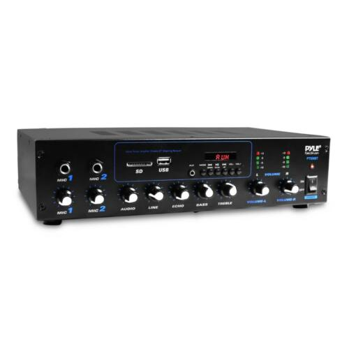 Pyle Professional Powered Amplifier & Bluetooth Receiver Ste