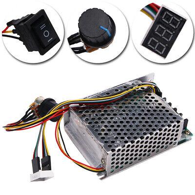Dc10-55v 60a Pwm Motor Speed Controller Cw Ccw Reversible Switch 12v 24v 48v New