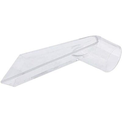 See-through Plastic Head For Upholstery Cleaning Auto Detailing Wand Mattress