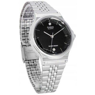Casio Watch MQ-1000D-1A2DF Stainless Steel Diamond Dial Watch RRP $119