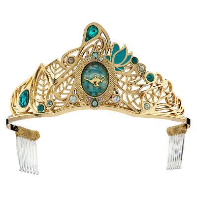 Disney Store Aladdin Princess Jasmine Deluxe Tiara Dress Up Costume Crown New - Princess Jasmine Tiara
