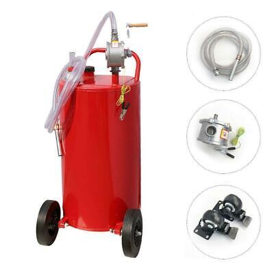 35 Gallon Gas Caddy Tank Storage Drum Gasoline Diesel Fuel Transfer 45l80rpm