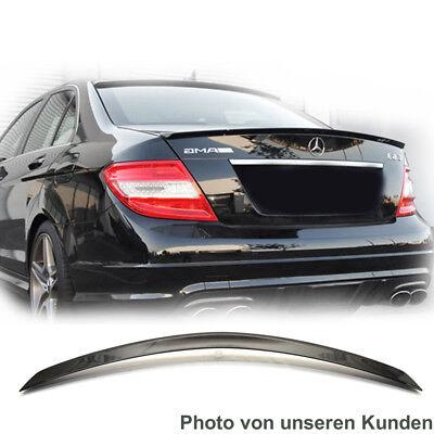 Mercedes Benz W204 C204 C-Klasse HECKSPOILER Spoiler * LACKIERT Obsidianschwarz