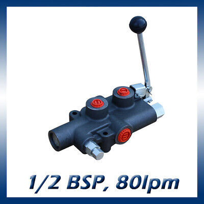 Hydraulic Log Splitter Lever Control Valve With Auto Kick Out 80lmin