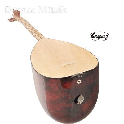 Baglama Saz kurzhals direkt vom Hersteller  Beyaz Akaju Mahogany Wood Shortneck