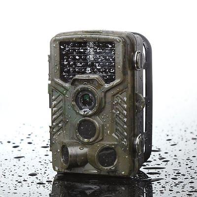 12MP COMS Infrarot Jagdkamera Fotofalle Wildkamera Überwachungskamera Nachtsicht