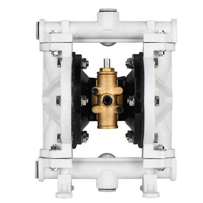 12 Polypropylen Air-operated Double Diaphragm Pump 13gpm 150f 66605j-3eb White