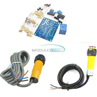 E18-d50nke18-d80nk Npn Adjustable Infrared Reflectance Sensor Switch Diy Kit