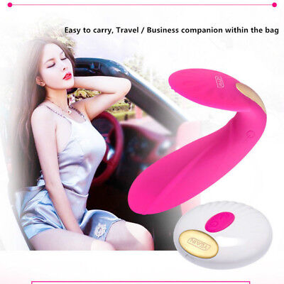 Female Wearable Wireless Remote Control Rechargable Heating-Up Vibrator in Panty