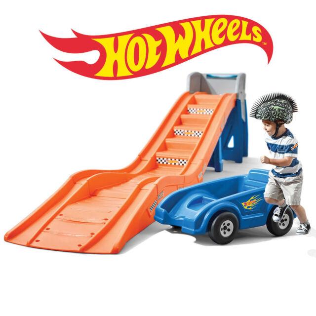 step2 hot wheels extreme thrill coaster ride on 733538862894 ebay. Black Bedroom Furniture Sets. Home Design Ideas