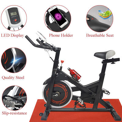 Exercise Bike Bicycle Cardio Cycling Fitness Stationary Aerobic Equipment Indoor