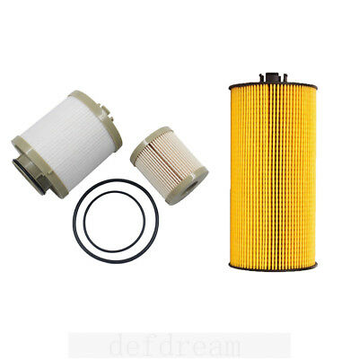 For 03-07 Ford Motorcraft 6.0L Powerstroke Diesel Oil Fuel Filter Kit FD4616