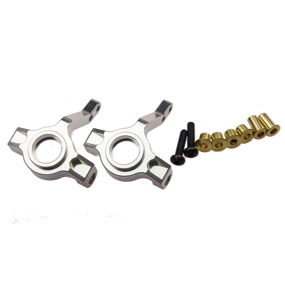 2PCS Aluminum Steering Block Front Knuckle Arms for Axial