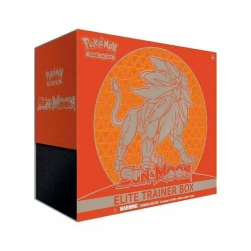 Sun And Moon Base Set Solgaleo Sealed Elite Trainer Box (etb) - English New