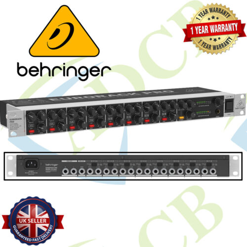 Behringer RX1602 Eurorack Pro Mixer RX1602 Professional Multi-Purpose 16-Input