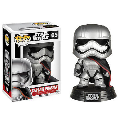 Star Wars Episode 7 Pop! Captain Phasma Movie Character Figure | FUNKO FU6226 - Star Wars Characters Episode 7