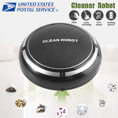 Smart Robot Vacuum Cleaner Edge Cleaning Automatic Suction Sweeper Rechargeable