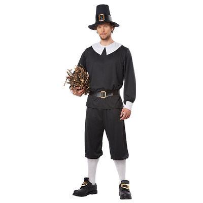 Mens Pilgrim Halloween Costume (Male Pilgrim Costume)