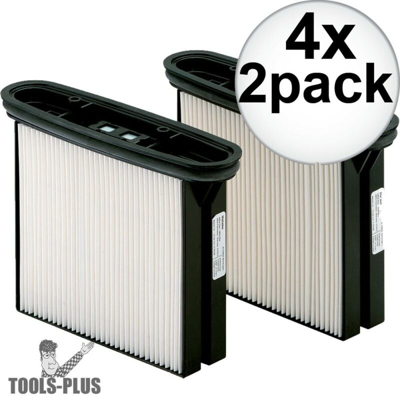 Metabo 630326000 2x HEPA Filter Cassettes for ASR35 ACP 4x New