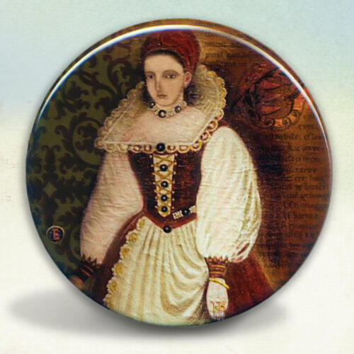 Countess Elizabeth Bathory Pocket Mirror tartx