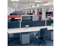 48 - CALL CENTRE BENCH DESKS - 1400 X 700MM - 10 YR GUARANTEE