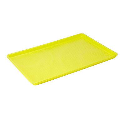 Winco Fft-1826yl 18x26-inch Yellow Plastic Tray Nsf